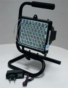 аккумуляторный светодиодный прожектор