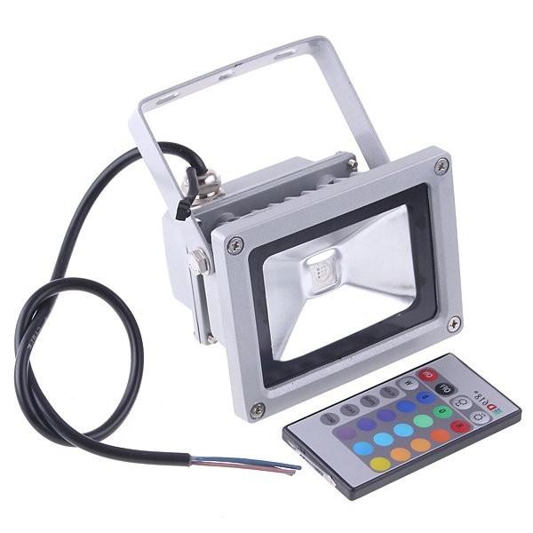 цветной rgb прожектор