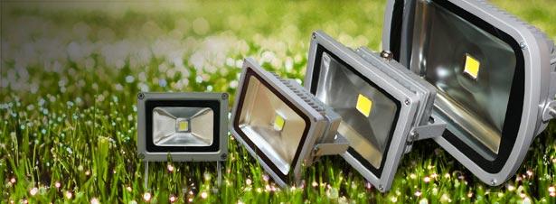 led прожекторы для уличного освещения