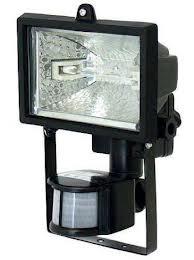 галогенный прожектор с датчиком движения (присутствия)