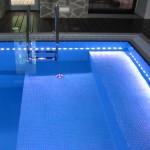 подсветка бассейна светодиодами