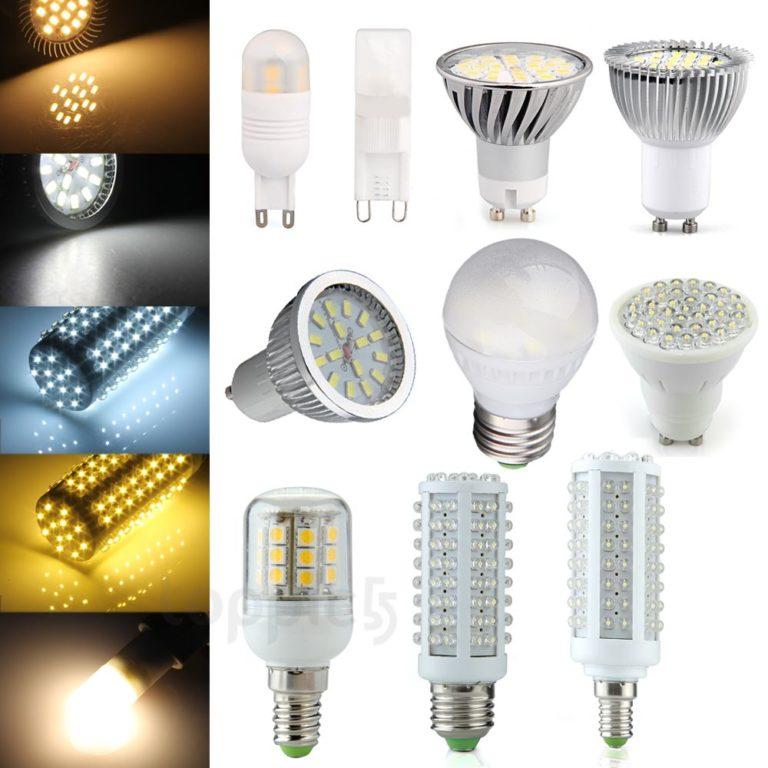 О светодиодных лампах в домашних условиях