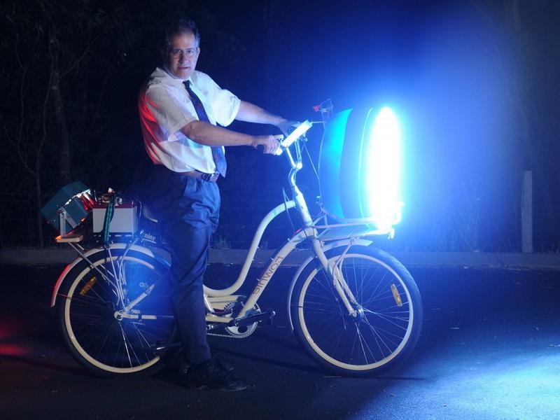 Как сделать фары на велосипед
